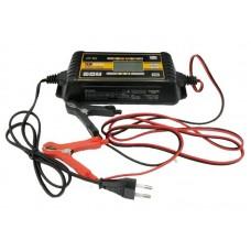 Зарядное интеллектуальное автомат. устройство ТОП АВТО АЗУ-806(6А, для 6/12В-АКБ до 160А-ч, в том числе AGM, цифр. дисплей, восстановл./десульфатация АКБ, IP65) АЗУ806