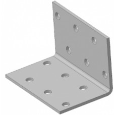 Уголок крепежный равносторонний 80x80x80 (50шт)