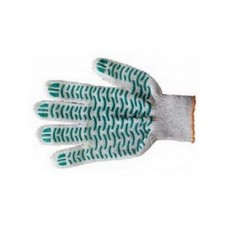 Перчатки 5нити 10класс ПВХ волна белые ГОСТ (400шт/уп)