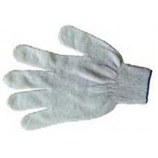 Перчатки 4нити 10класс без ПВХ белые (500шт/уп)