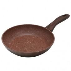 Сковорода Provence-20F (ков. ал., 20 см) (POLARIS), Коричневый , Коричневый