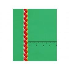 Шнур хоз. вязаный ПП РАДУГА/КОЛОР плотный d=7мм 20м, 100кгс, цветной