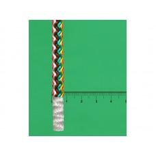 Шнур хоз. вязаный ПП РАДУГА/КОЛОР плотный d=8мм 20м, 140кгс, цветной