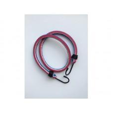 Шнур плетеный эластичный d=6мм L=600мм с крюками ПП сердечник - латекс