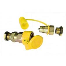 Соединитель пневматический FER-RO М16x1,5 желтый HH-096-M16 yellow (1/50)