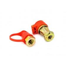 Соединитель пневматический FER-RO М16x1,5 красный HH-096-M16 Red (1/50)