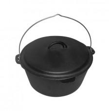 Казан чугунный KС-31, диам. 31 см, 6 литров