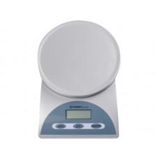 6405 Весы кухонные FIRST, электр., 5 кг, 1 гр.тарокомпенсация, Автоматическое/ручное отключен.Silver