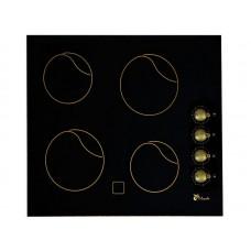 ПЭВ 40 С ЛЫСЬВА (панель 4-х конфорочная, стеклокерамика) (черная/бронза)