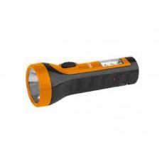 Фонарь TA15 Трофи аккумуляторный ручн 4V1Ah 2в1 5xLED+6SMD прямая зарядка L=152мм D=58мм кор (18/90)