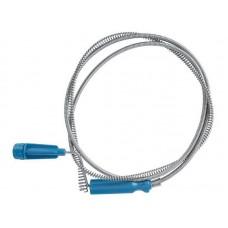 Трос сантехнический для прочистки канализационных труб 1,8м /150