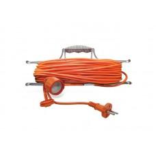 Удлинитель-шнур на рамке УШ-10 IP-54 ПВС 3*0,75 1гн. з/к 30м  UNIVersal