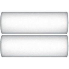 Ролики поролон 150мм 2шт высокой плотности белые Профи (1шт/уп)