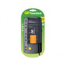 Зарядное устройство GP Standard PB320 для АА, ААА, С и D аккумуляторов в клемшеле