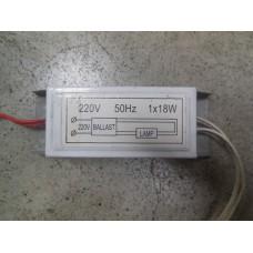 Баласт электрический 10L 1x18W