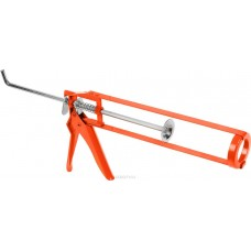 Пистолет для герметика скелетный 225мм (зеленый). Дед Банзай (40шт/кор)