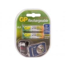 Аккумуляторы GP 270AAHC AA емкость 2700мАч 2шт перезаряжаемые