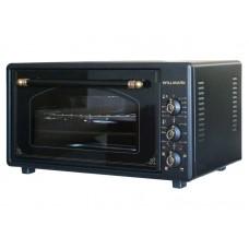 Духовка электрическая WILLMARK WOF-485BLG (48л, таймер, противень 2шт.,решетка,черный,1600Вт)