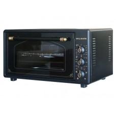 Духовка электрическая WILLMARK WOF-365BLG (36л,таймер,противень 2шт.,решетка,черный,1300Вт)