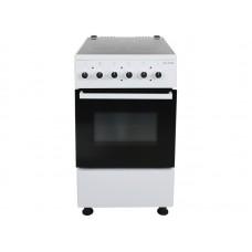 Керамическая  электрическая плита WILLMARK CER-56405TW (50х60, стеклокер., эл. дух. 52л, 4 конф., термост., белая)