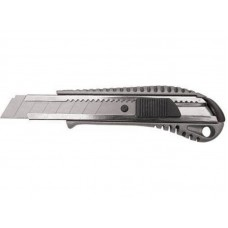 Нож технический Классик 18мм металлический корпус (12/144шт/уп)