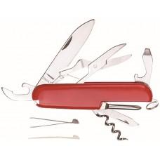 Нож складной, лезвие нержавеющая сталь 7 функций (20/120шт/уп)
