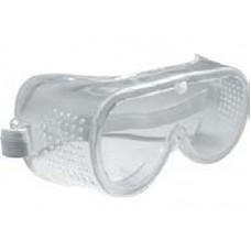 Очки защитные с прямой вентиляцией прозрачные (120шт/уп)