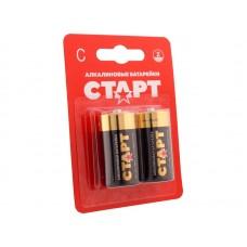 Батарейки СТАРТ LR14-BL2 алкалин C 2шт блист