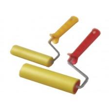 Валик прижимной резиновый 150мм д/обоев бюгель 6мм желтый (80шт/уп)