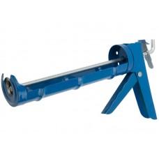 Пистолет д/герметика 9 225мм п/корпусной зубчатый шток (24шт/уп)