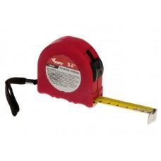 Рулетка Тренд 5м (12,5мм) резиновое напыление, стальная лента