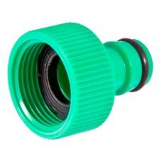 Адаптер 1/2  с внутренней резьбой, диаметр штуцера 16мм материал: высокопрочный ABS пластик, резиновые уплотнители, упаковка: подвесная карта
