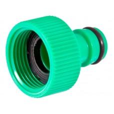 Адаптер 3/4  (с внутренней резьбой) диаметр штуцера 16мм материал: высокопрочный ABS пластик, резиновые уплотнители, упаковка: подвесная карта