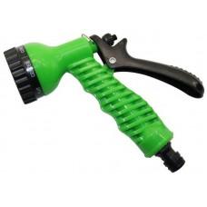 Пистолет для полива 7 режимов распыления Дед Банзай, материал: ABS пластик, полипропилен. Упаковка: подвесная карта.