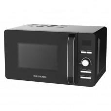 Микроволновая печь WILLMARK WMO-291DH (20л, 700Вт, ГРИЛЬ, элект. упр, ручка д/открыв. дверцы,черная)