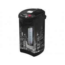 Термопот WILLMARK WAP-603IS (5.5л, 2 сп. нал.воды,повт.кипяч.,чер. пластик, 900W, 2 г. гар.)