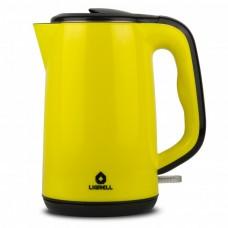 Чайник LIGRELL LEK-2022PS желтый (2.0л, бесшовный, дв. стенки, эффект термоса, 2000Вт)