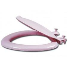Сиденье для унитаза (розовый мрамор) (15шт/уп)