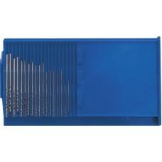 Набор микросверел по металлу HSS 20шт полированные (20/80шт/уп)