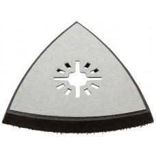 Подошва для МФИ 80мм д/шлифлистов,треугольная (20/200шт/уп)