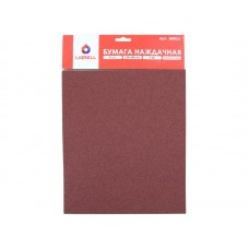 Бумага наждачная LIGRELL 230x280 мм P60, на тканевой основе (10шт.) (50)