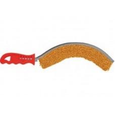 Корщетка с пластиковой ручкой вогнутая тип С (12/120шт/уп)