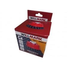 Корщетка WILLMARK тип  чаша для УШМ (гайка М14х2) витая стальная проволока 0,5мм размер 65мм(2,5 )