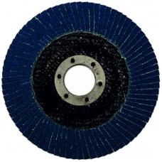 Круг циркониевый лепестковый (5/200) торцевой  WILLMARK 125мм, Р36