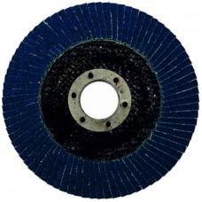 Круг циркониевый лепестковый (5/200) торцевой WILLMARK 125мм, Р40