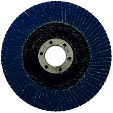 Круг циркониевый лепестковый (5/200) торцевой WILLMARK 125мм, Р60