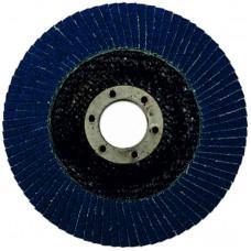 Круг циркониевый лепестковый (5/200) торцевой  WILLMARK 125мм, Р80