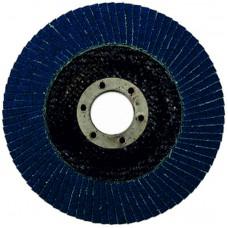Круг циркониевый лепестковый (5/200) торцевой WILLMARK 125мм, Р100