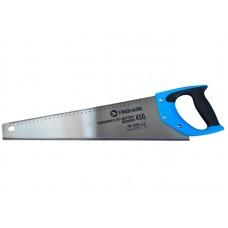 Ножовка FinShark по дереву 450мм, средний зуб 7TPI, 2D заточка,  рукоятка 2-х компонентрная с резиновыми вставками.