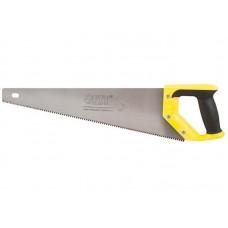 Ножовка по дереву Профи 500мм 3D-заточка.каленая крупный зуб (12/48шт/уп)